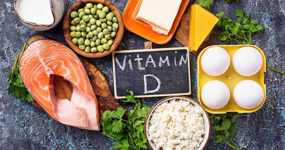 Eggs, salmon and other vitamin d-rich foods