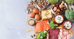 Eggs, salmon, nuts, broccoli and other calcium-rich food